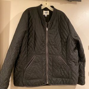 Old Navy black quilted jacket size xxl - light